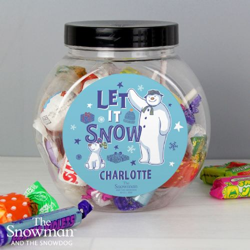The Snowman and the Snowdog Sweet Jar